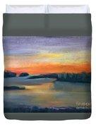 Calm Evening Duvet Cover