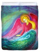 Calming Angel Duvet Cover