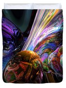 Calming Madness Abstract Duvet Cover