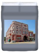 Calumet Hotel-1887 In Pipestone-minnesota  Duvet Cover