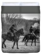 Calvary Charge Civil War Duvet Cover