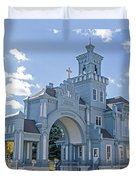 Calvary Gatehouse  Duvet Cover