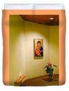 Camaldoli Monastery Prayer Room Duvet Cover