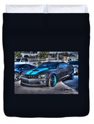 Camaro 1ss Coupe Duvet Cover