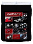 Camaro-drive - Poster Duvet Cover