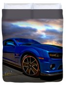Camaro Hot Wheels Edition Duvet Cover