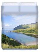 Camas Nan Geall Ardnamurchan Scotland Duvet Cover