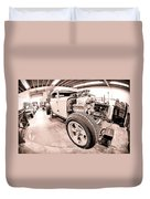 Cambra Speed Shop Duvet Cover