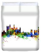 Cambridge England Duvet Cover
