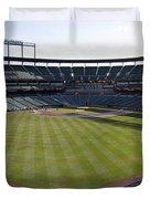 Camden Yards - Baltimore Orioles Duvet Cover