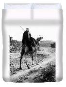 Camel Rider Duvet Cover