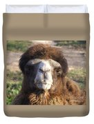Camel Face Duvet Cover