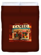 Cameo Dress Shop Duvet Cover