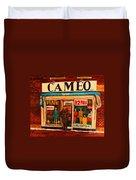Cameo Dress Shop Duvet Cover