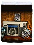 Camera - Kodak Instamatic Duvet Cover