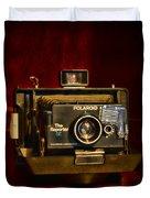 Camera - Polaroid  The Reporter Se Duvet Cover