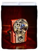 Camera - Vintage Brownie Starflash Duvet Cover