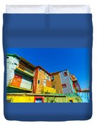 Caminito In Buenos Aires Duvet Cover