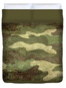 Camo Distressed Hard Version Duvet Cover