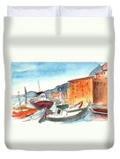 Camogli In Italy 02 Duvet Cover