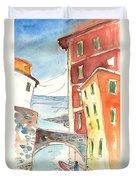 Camogli In Italy 04 Duvet Cover