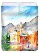 Camogli In Italy 11 Duvet Cover