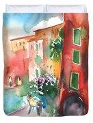 Camogli In Italy 12 Duvet Cover