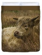 Camouflaged Cow Duvet Cover