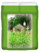 Camp Dennison Garden Duvet Cover