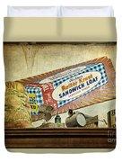 Camp Verde Texas General Store Duvet Cover