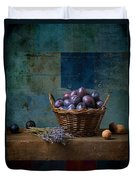Campagnard - Rustic - S01obv Duvet Cover by Variance Collections