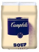 Campbells Soup Duvet Cover
