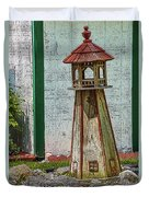 Campers Lighthouse Duvet Cover