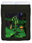 Campground Flower Duvet Cover