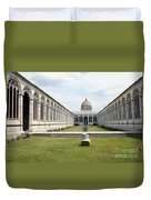 Camposanto  Cathedral Pisa Duvet Cover