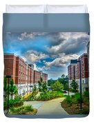 Campus Life Duvet Cover