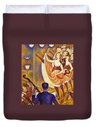 Can Can Le Chahut Duvet Cover
