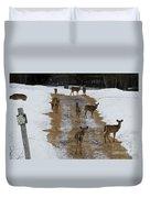 Can Deer Read Duvet Cover