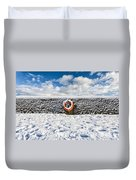 Can You Drown In Snow? Duvet Cover
