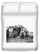 Canada Eskimo Family, 1860 Duvet Cover
