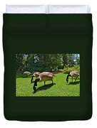 Canada Geese Duvet Cover