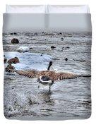 Canada Goose - The Runway Duvet Cover by Skye Ryan-Evans