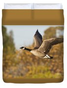 Canada Goose In The Skies  Duvet Cover