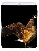 Canada Goose Pop Art - 7585 - Bb  Duvet Cover