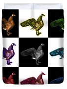 Canada Goose Pop Art - 7585 - V1 - M Duvet Cover