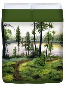 Canada Morning Duvet Cover