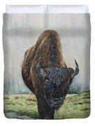 Canadian Bison Duvet Cover