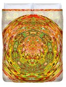 Canadian Fall Colors Conversion Into Chakra Wheel Deco Enery Mandala Duvet Cover