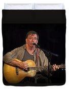 Canadian Folk Singer James Keeglahan Duvet Cover
