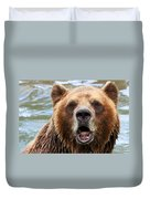 Canadian Grizzly Duvet Cover